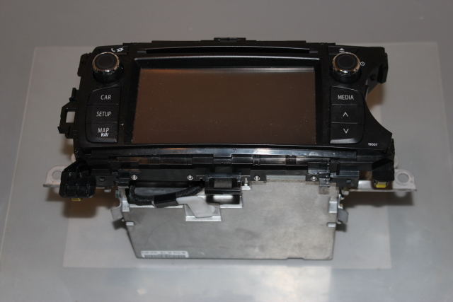 2012 Toyota Yaris 1.3L Petrol CD Player